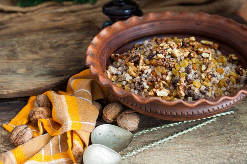 Поминальная рисовая кутья: рецепт