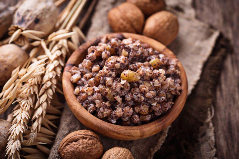 Классическая пшеничная кутья: рецепт