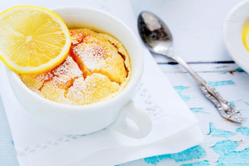 Пудинг с лимоном: рецепт