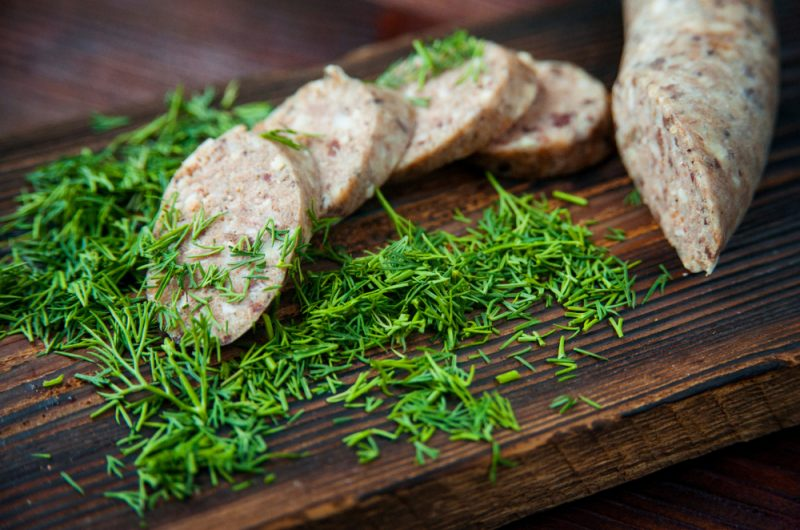 Домашняя ливерная колбаса: рецепт
