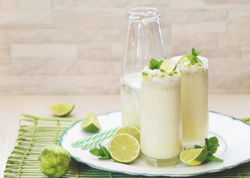 Бразильский «молочный» лимонад: рецепт