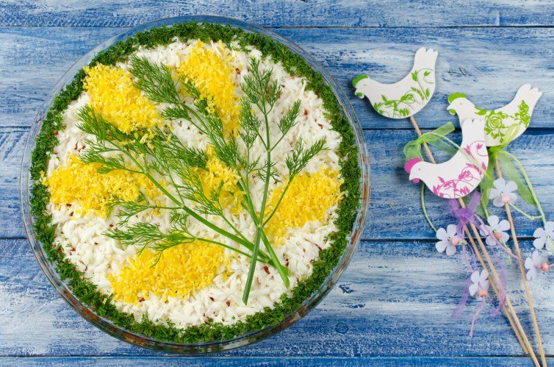 """Салат """"Мимоза"""": рецепт с фото"""