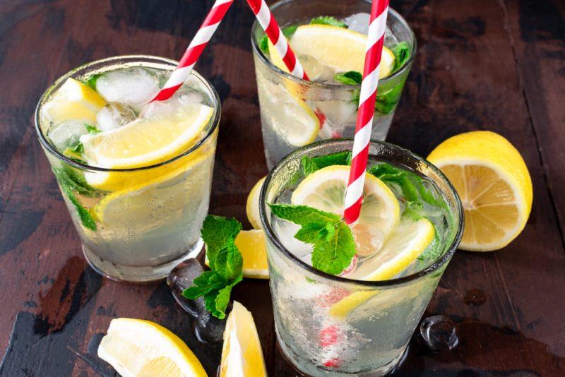 Мятный лимонад: рецепт