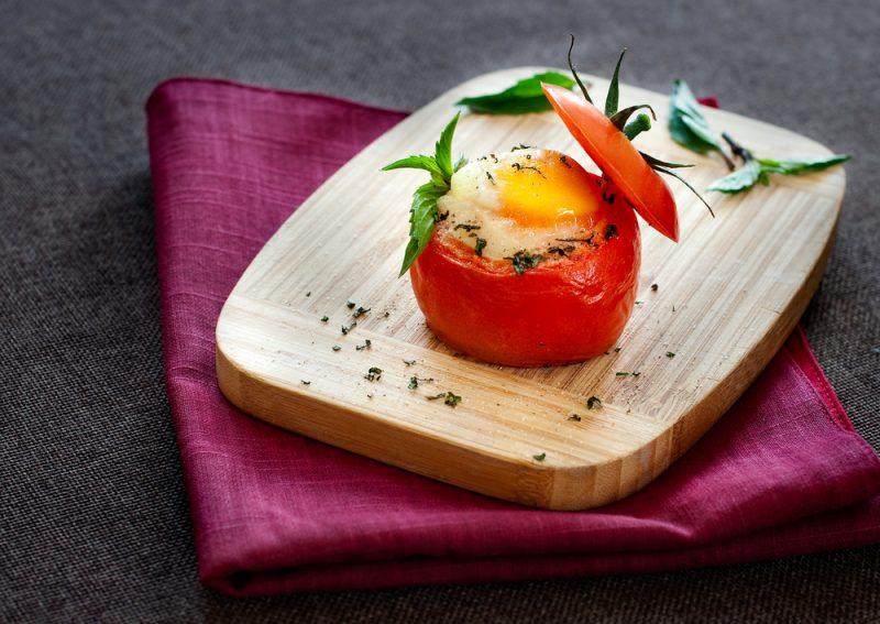 Омлет в томате: рецепт с фото