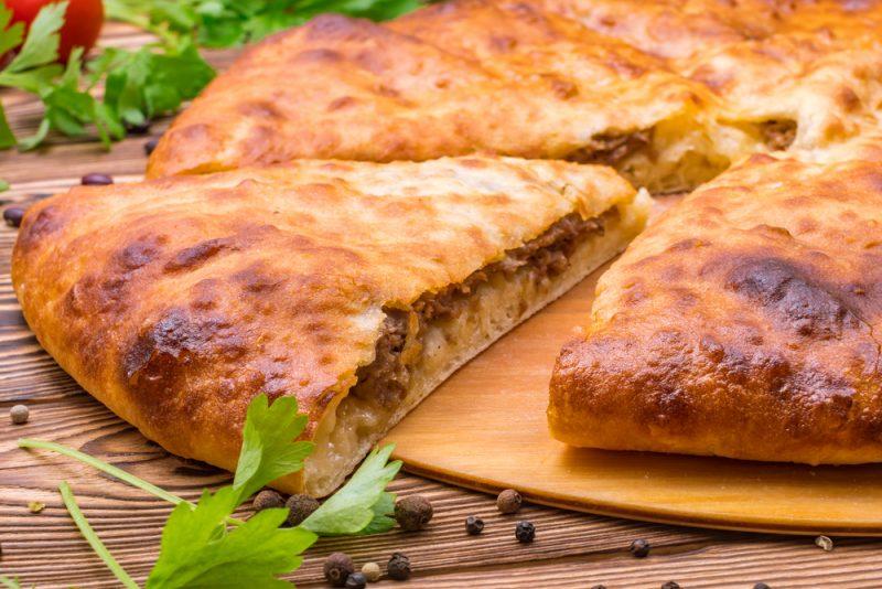 Осетинский пирог с говядиной: рецепт