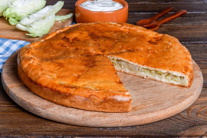 Овощные осетинские пироги: рецепт
