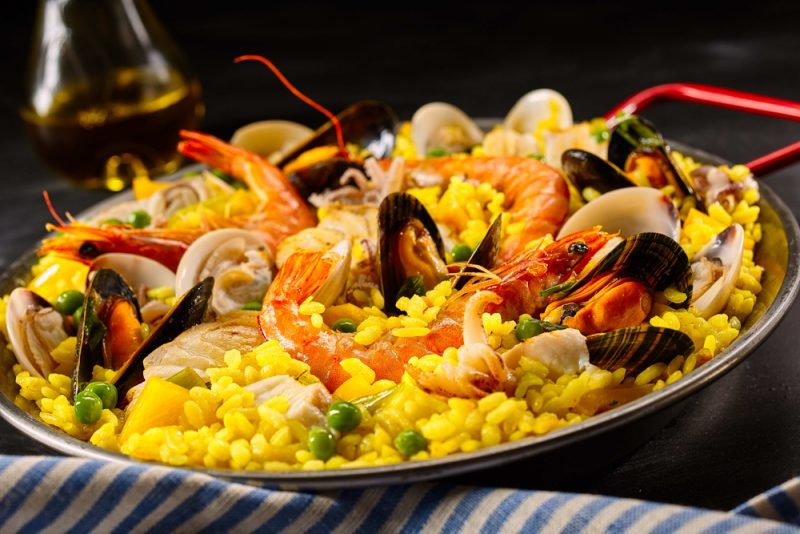 Ароматная паэлья: вкусные средиземноморские рецепты
