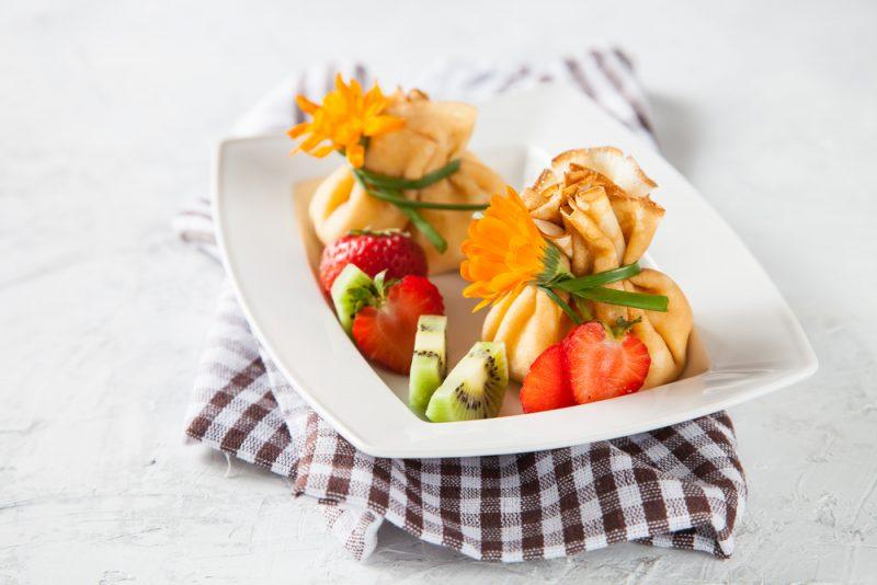 Сладкие мешочки с ягодами: рецепт