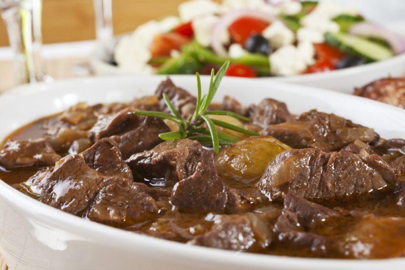 Мясо – пикантное основное блюдо