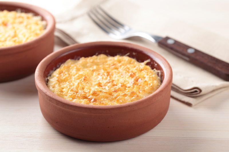 Рисовый пудинг: рецепт классический