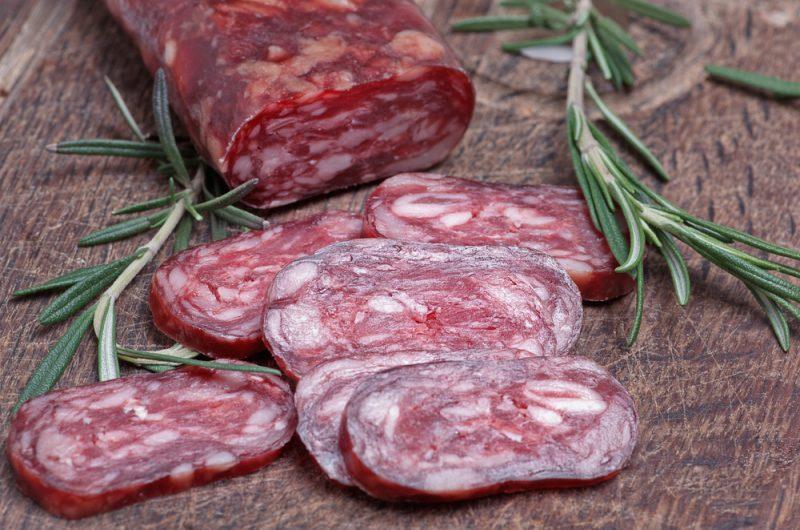 Вяленая колбаса в домашних условиях