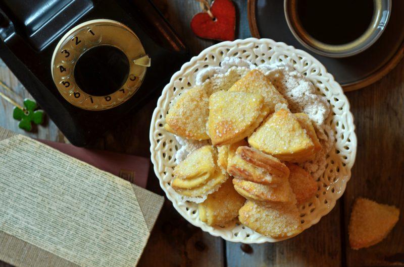Песочное печенье с творогом: рецепт