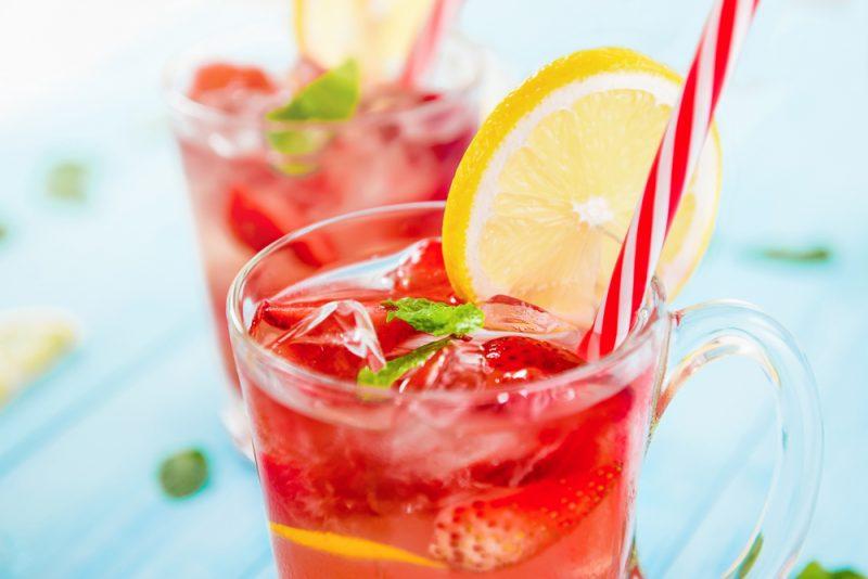 Клубничный лимонад: рецепт