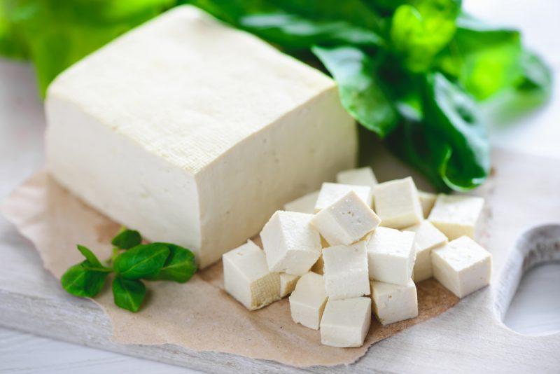Тофу с коагулянтами из соли и уксуса: рецепт