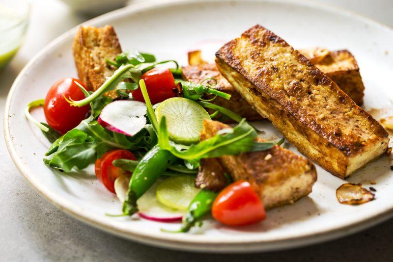 Рыбные стейки на основе тофу – быстро и вкусно