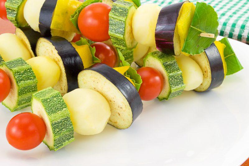 Рецепт вкусного овощного шашлыка