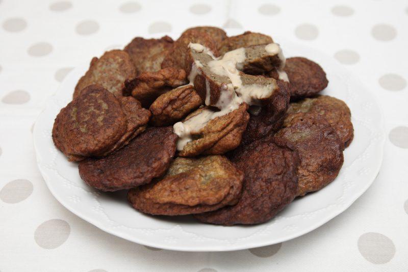 Классический рецепт оладок из говяжьей печени
