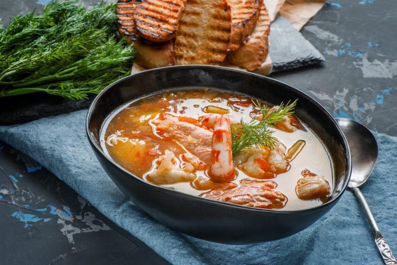 Нормандский буйабес: рецепт с фото