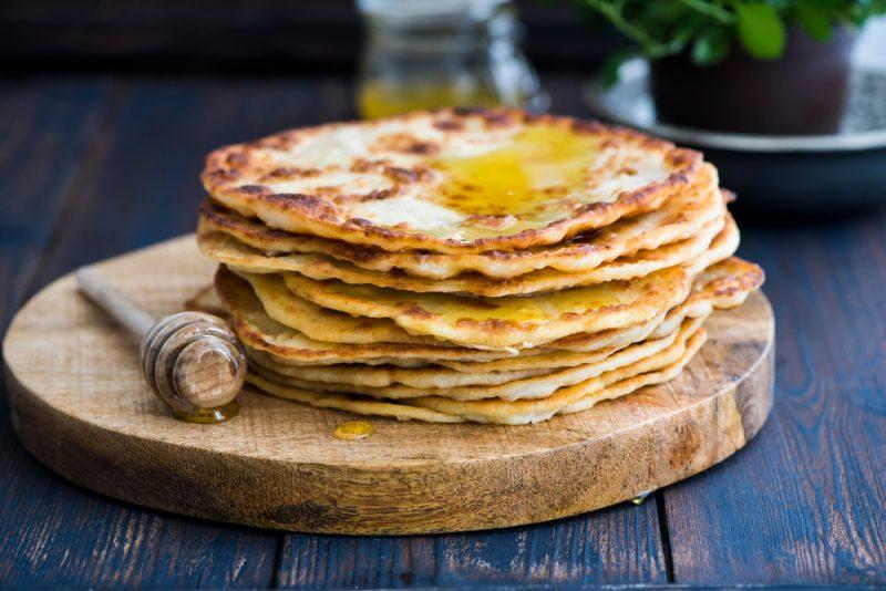 Хлебные лепешки: рецепт с фото