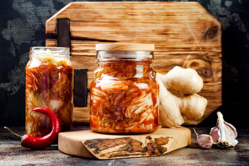 Кимчи из белокочанной капусты: рецепт