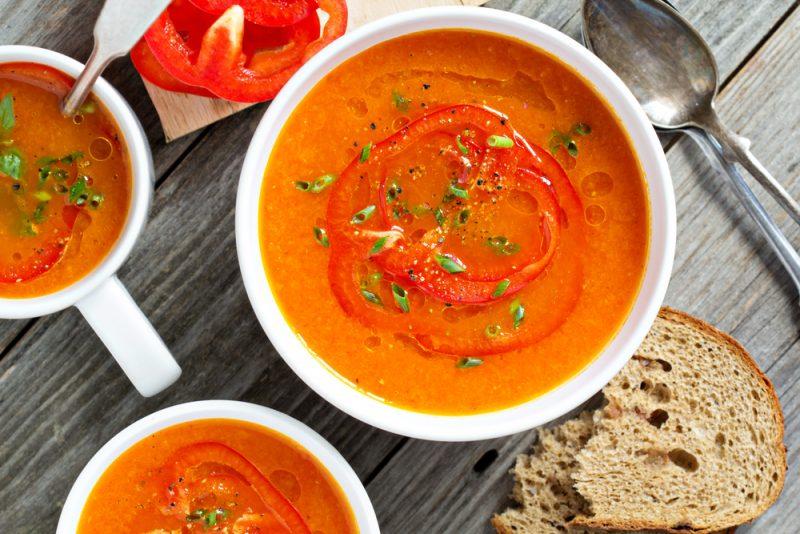 Морковно-сырный суп-потаж: рецепт