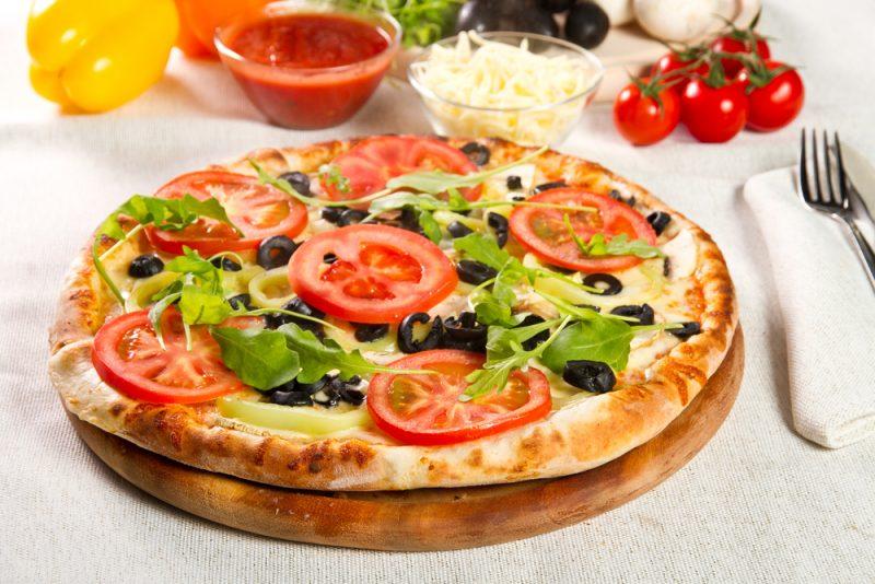 Творожная пицца с начинкой: рецепт