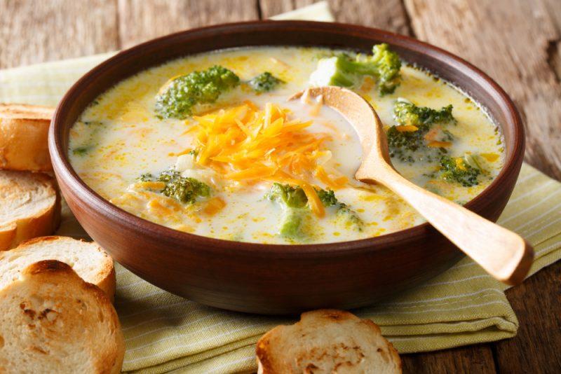 Сырный суп: рецепт
