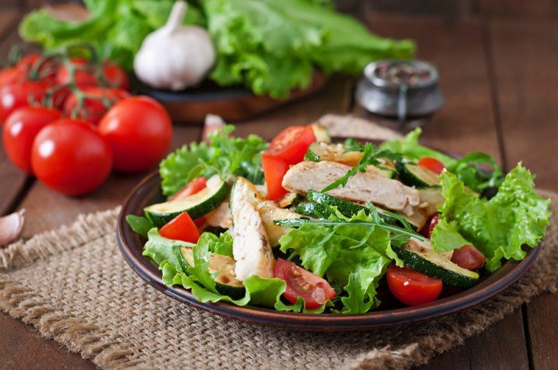 «Теплое приветствие»: рецепт салата