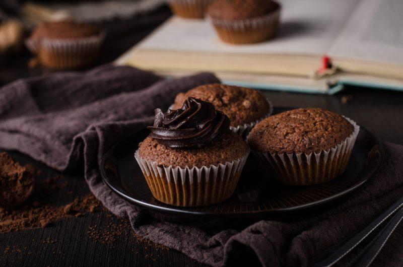 Шоколадные капкейки: рецепт