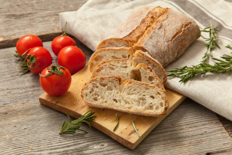 Оригинальный рецепт чиабатты в домашних условиях с сыром