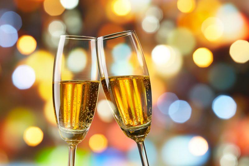 Коктейль шампанское с коньяком