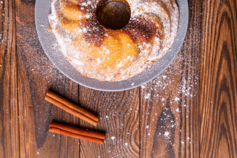 Творожный кекс – стакан: рецепт с фото