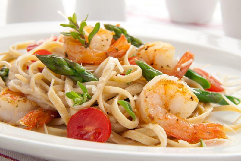 паста с морепродуктами простой рецепт