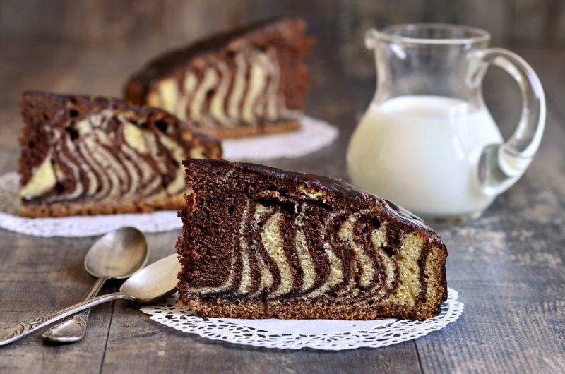 Торт «Зебра»: рецепт с фото