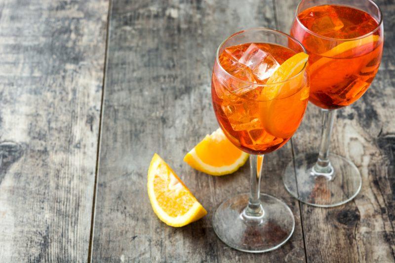 Коктейль Апероль с апельсиновым соком: рецепт