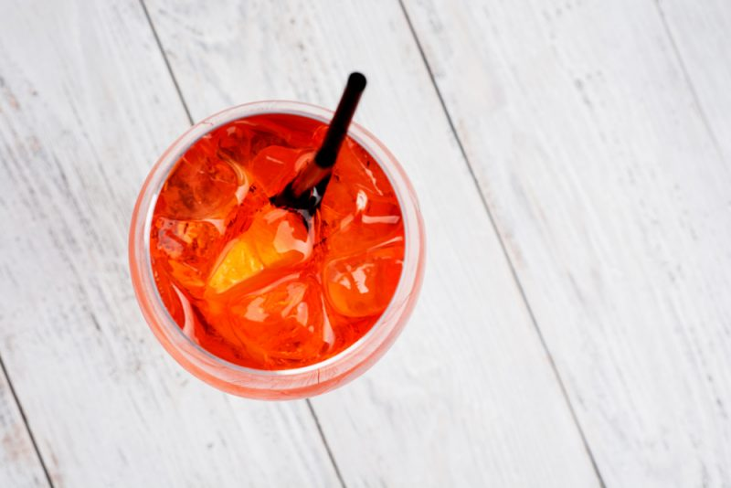Коктейль Апероль с виски