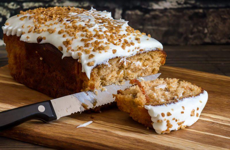 Нежный ароматный кекс с морковью: рецепт с фото