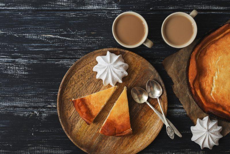 Рецепт вкусной запеканки из творога и кофе