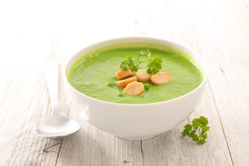 Крем-суп из курицы и цукини в мультиварке