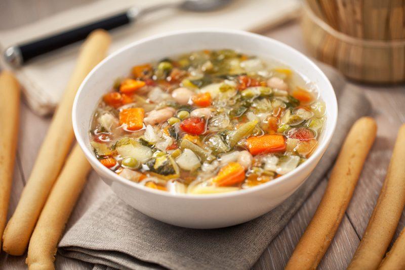 Суп минестроне по классическому рецепту