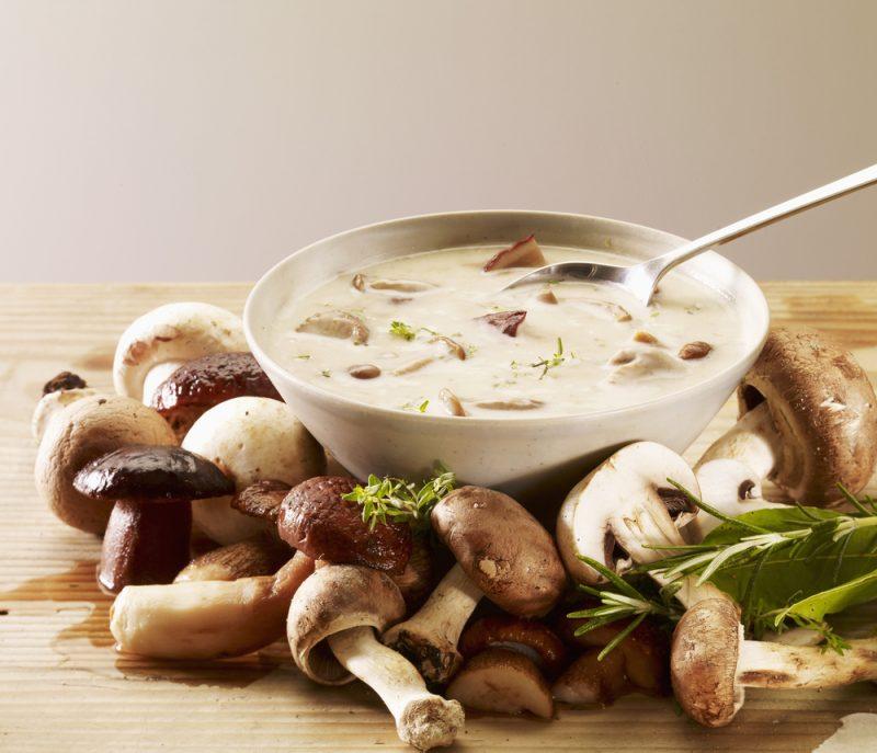 Грибной суп со сливками: рецепт с фото