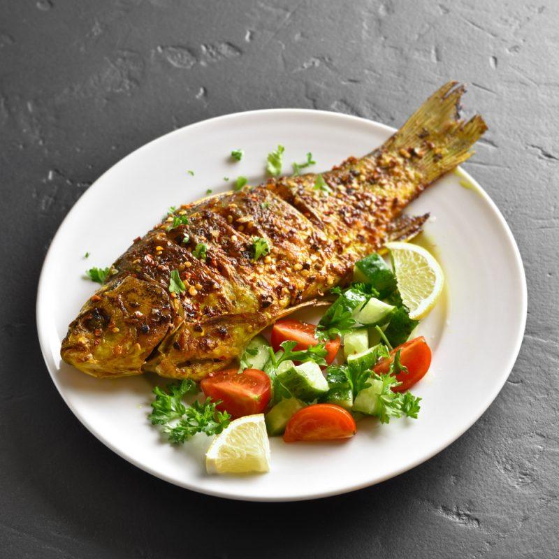 Морской окунь в духовке: рецепты с фото