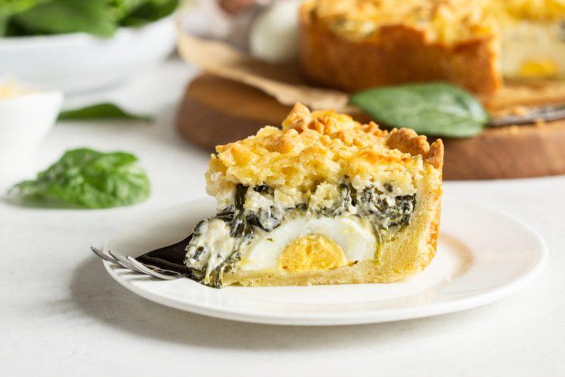 Пирог Паскуалина: рецепт с фото
