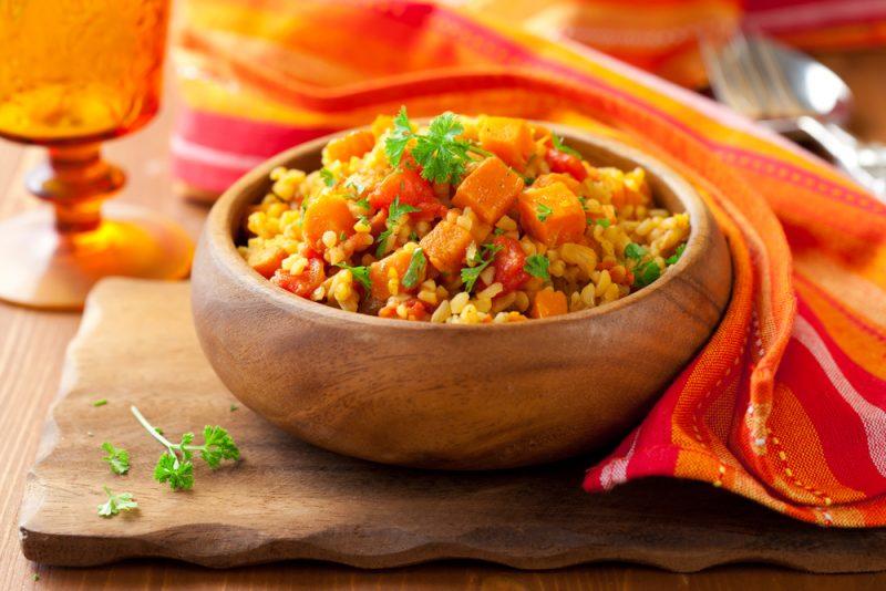 Овощной салат с булгуром: рецепт с фото