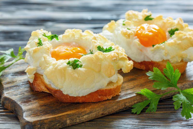 Самая вкусная яичница: рецепт из Франции