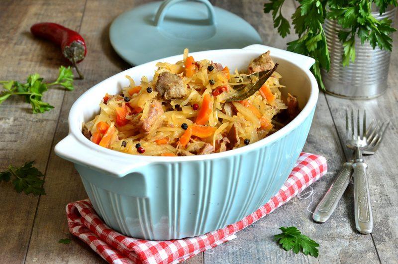 Бигос (тушеная капуста с мясом): рецепт с фото