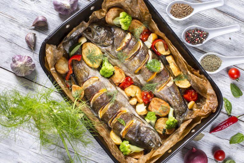 Аппетитные рецепты приготовления форели в духовке