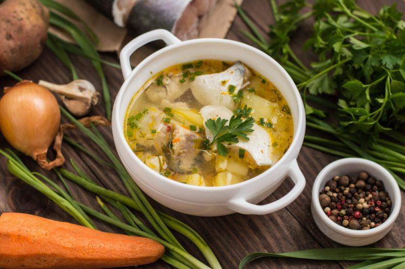 Уха: пошаговый рецепт приготовления супа