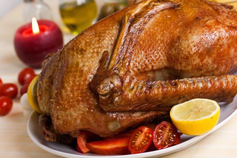 Вкусный рецепт гуся, запеченного в духовке с перловкой