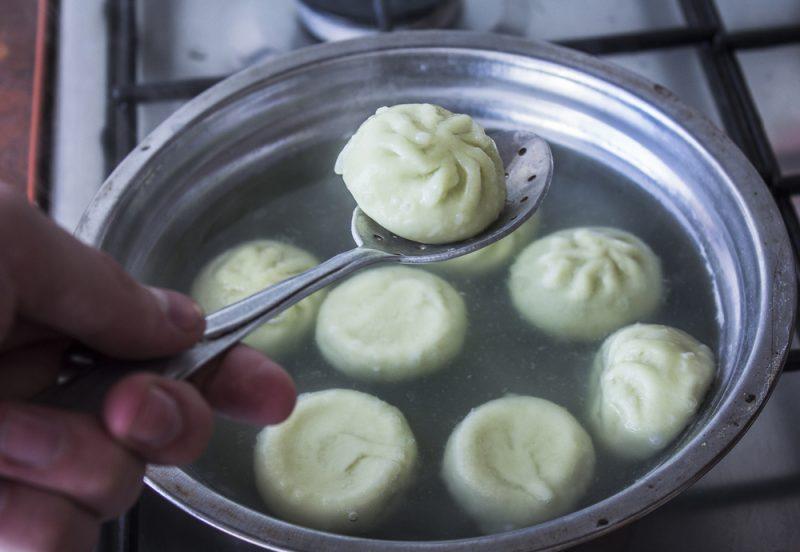 Ароматные грузинские хинкали: рецепт приготовления